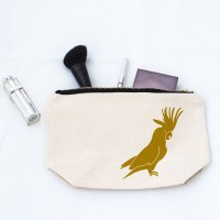 Cockatoo Makeup Bag Image 0