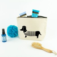 Sausage Dog Toiletry Bag