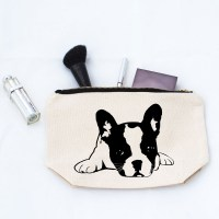 French Bulldog Makeup Bag